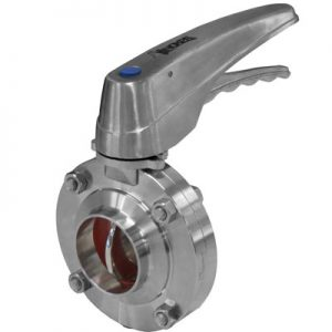 INOXPA-butterfly-valve-with-stainless-steel-handle